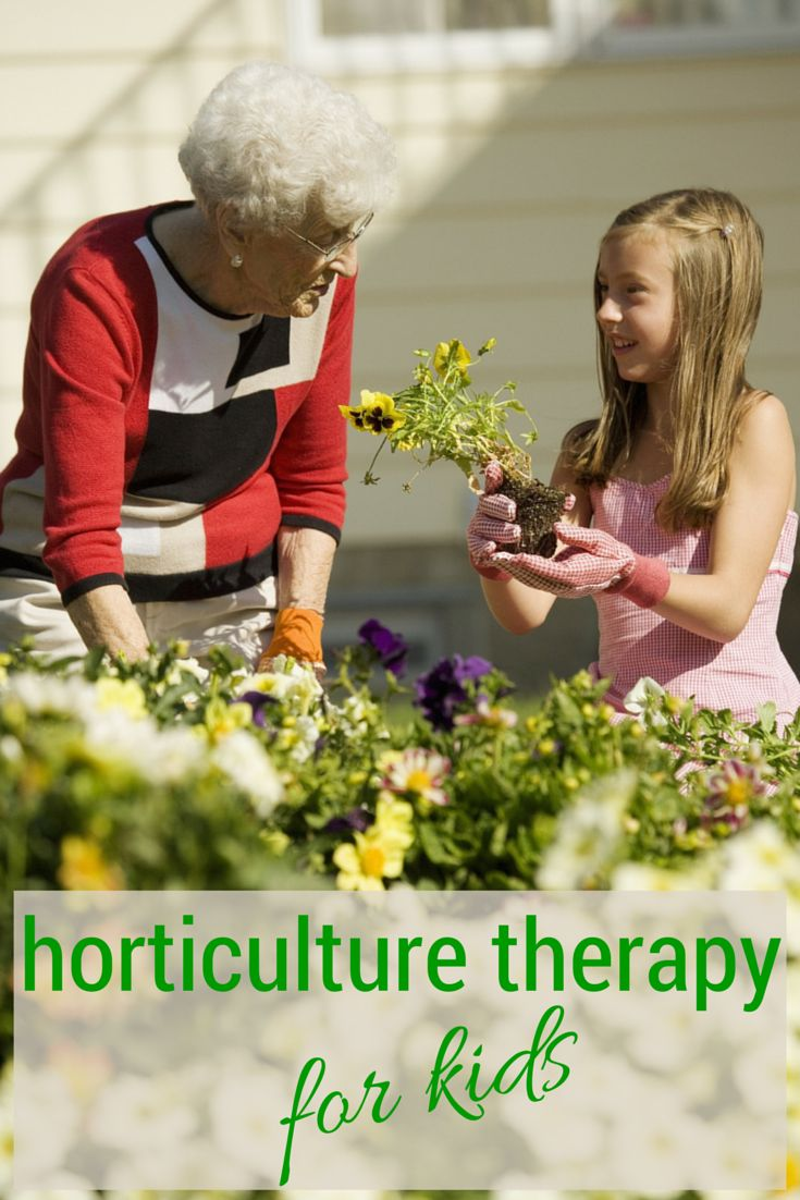 Garden Therapy Different Garden Ideas: Benefits Of Horticulture Therapy For Kids