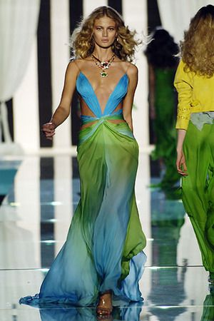 Cavalli - Love the colors, reminds me of a waterfall in a tropical forest!