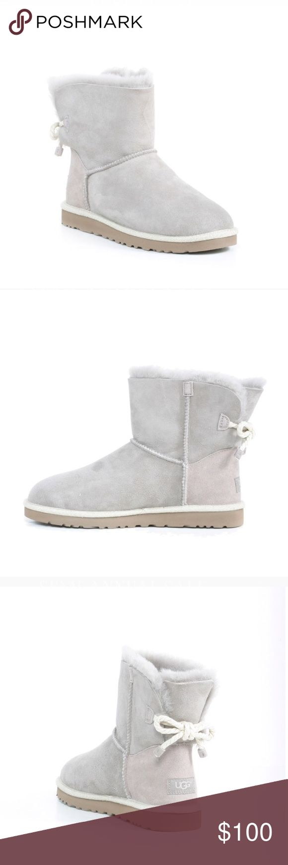 W Selene Uggs Oyster colored, selene uggs. Took pictures from offline because they haven't been fully opened as you can see from the pictures I took. Not actually as light as the online pictures UGG Shoes Winter & Rain Boots