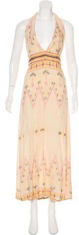 Cleobella Halter Maxi Dress