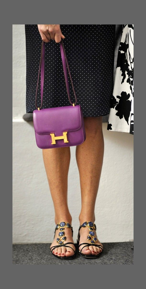 Carla Bruni with her Hermes Constance | Bag of Tricks | Pinterest ...