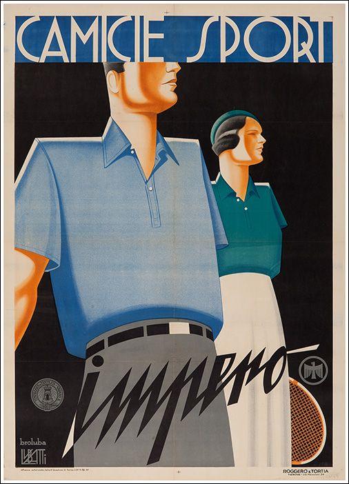 ✔️ Camicie Sport Impero - by Domenico Lubatti - 1932