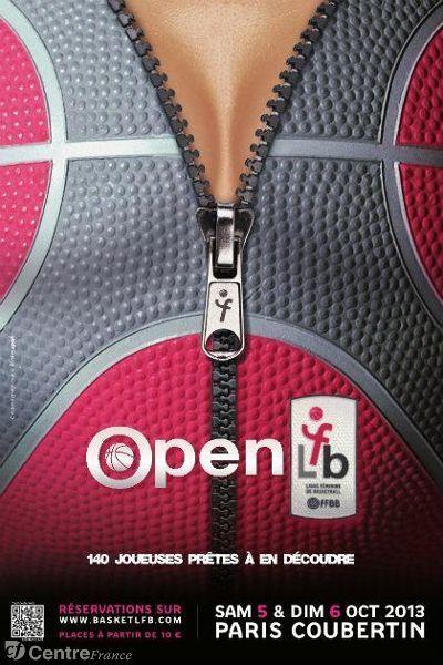 Open LFB, basket féminin. Du 5 au 6 octobre 2013 à Paris16.