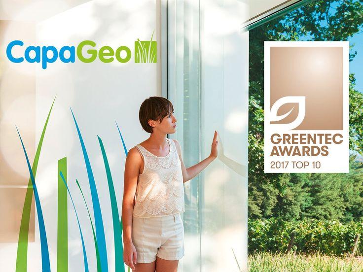 Βοηθήστε να γίνει ο κόσμος λίγο πιο πράσινος..CapaGeo Caparol Ψηφίστε στον Online διαγωνισμό GreenTec Awards 2017  #ConstructionLiving Caparol #voteforgreen Caparol Greece