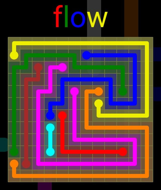 Flow Extreme Pack 2 - 12x12 - level 16 solution
