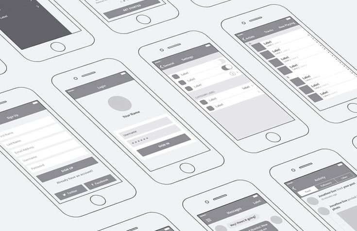 Medialoot - iPhone App Wireframing Kit