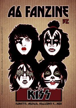 A6 Fanzine: A6 Fanzine numero 32: protagonisti i Kiss