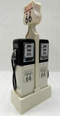 Route 66 salt and pepper shakers