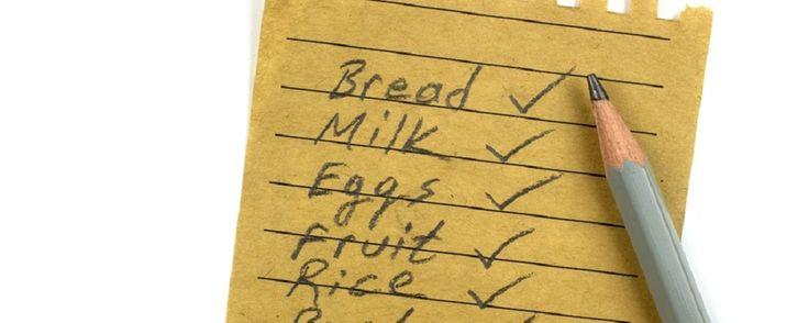Η λίστα με τα ψώνια για μία πιο υγιεινή διατροφή  Μοσχου Λαμπρινή Διαιτολόγος Διατροφολόγος