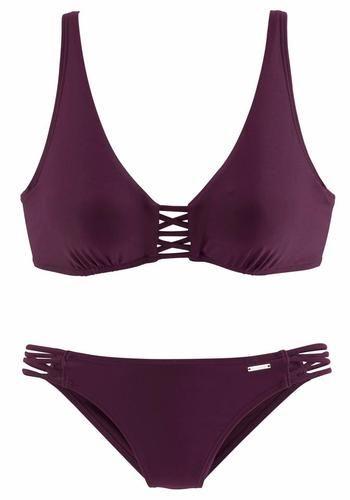 #BRUNO BANANI Damen Bügel-Bikini, Gr. 36 B, violette, 04893865822186