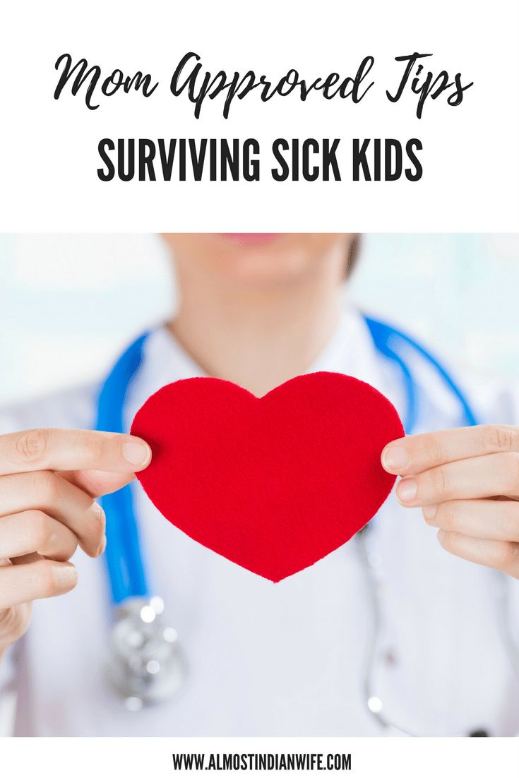 Mom approved tips for surviving flu season with your kids.