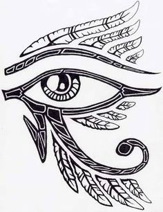 egyptian eye design