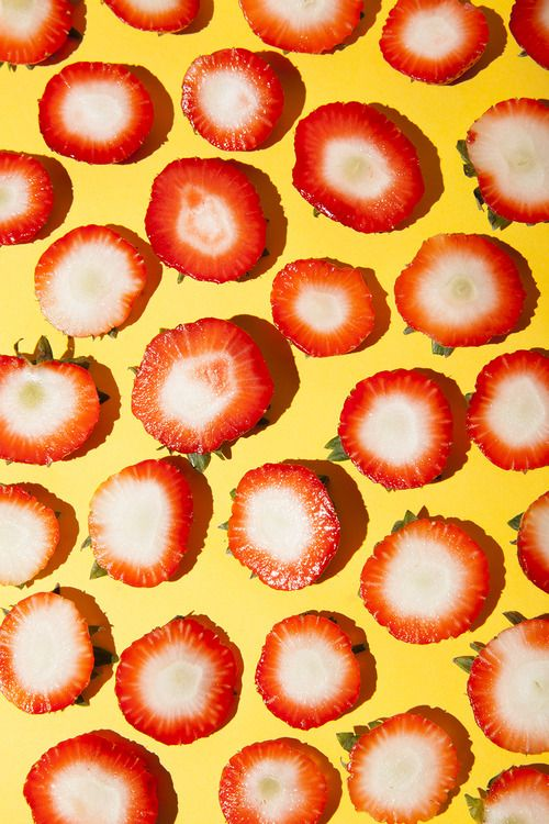 thingsorganizedneatly: Stephanie Gonot, Strawberry Sunday