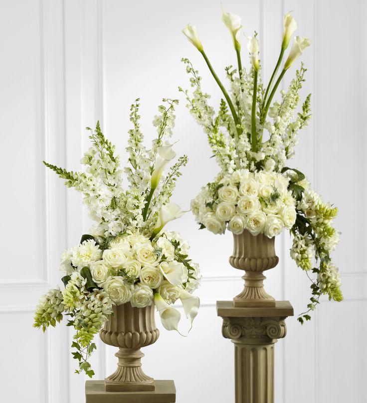 Pulpit Flowers Altar: Best 726 Ceremony...I Do's Images On Pinterest