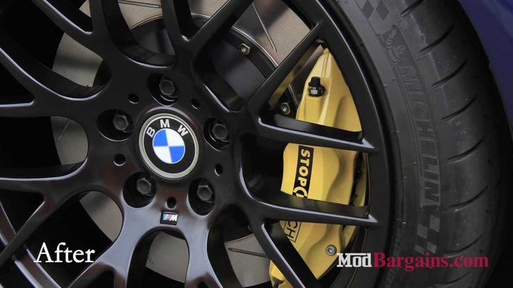 2004 BMW E46 M3 gets Stoptech Big Brake Kit and Avant Garde Rims install...
