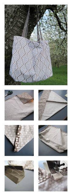 ber ideen zu tasche n hen anleitung auf pinterest schnittmuster tasche kostenlos. Black Bedroom Furniture Sets. Home Design Ideas
