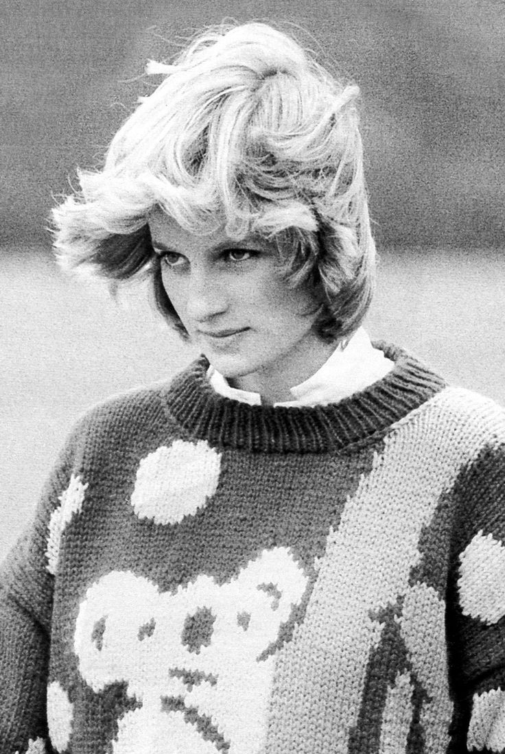 May 2, 1982: Princess Diana on the polo grounds of Great Windsor Park.