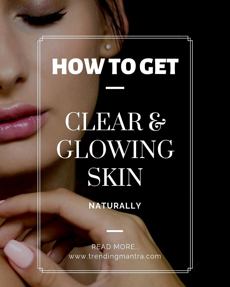 Glowing skin how to get naturally video