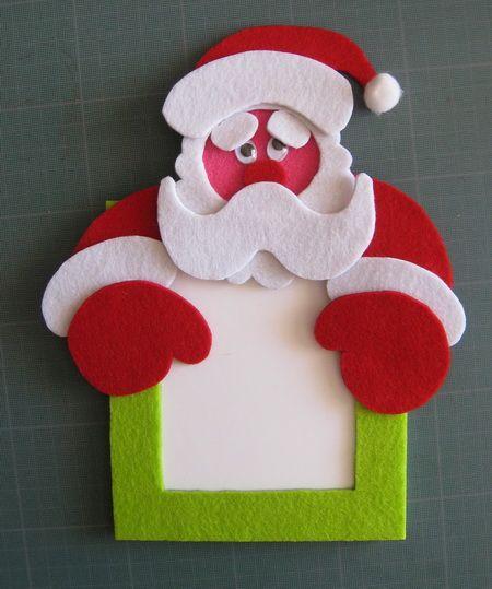 Cadre photo Père Noël.