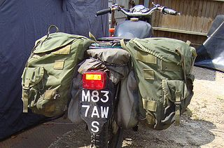 Hard or soft luggage? The great debate: http://www.overlandexpo.com/overland-tech-travel/2012/7/10/do-you-want-it-hard-or-soft-your-motorcycle-luggage-that-is.html  Photo of Austin Vince's ALICE pack panniers