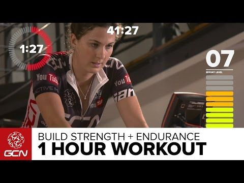 Power + Endurance Workout – 60 Minute Strength Building Indoor Cycling Training – YouTubeclaudia mendez