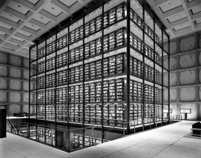 Beinecke Rare Book and Manuscript Library / Skidmore, Owings, & Merrill