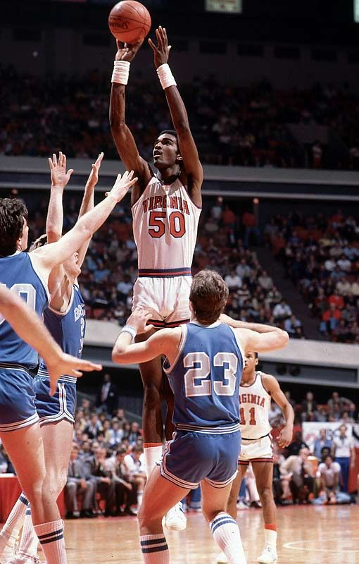 Ralph Sampson! I love him! I have seen him at a uva game this year!