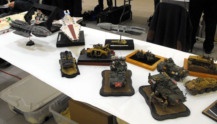 Exhibition of Sci-fi and Military Models