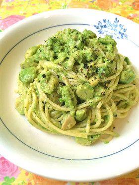 アボカドクリームパスタ♪ Avo Cream Pasta