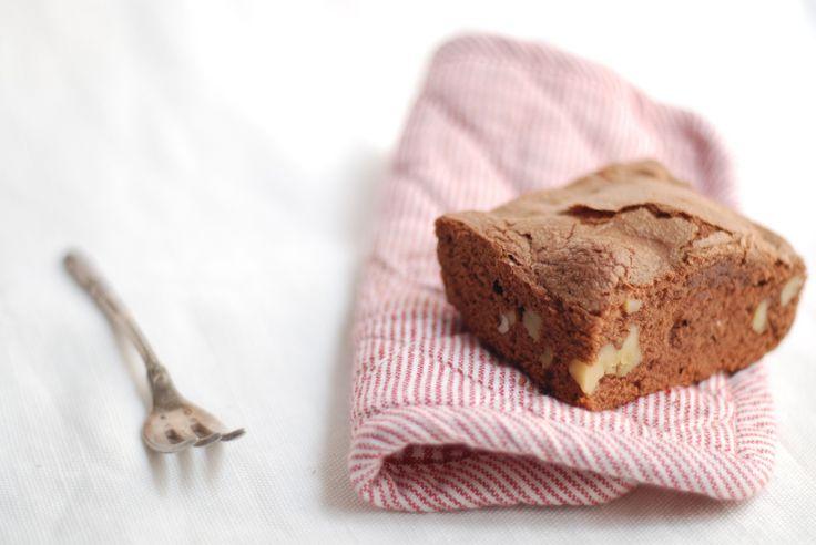 brownies con nueces