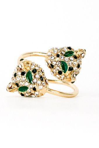 Shop Suey Boutique - LEOPARD RING - Gold, $14.50 (http://www.shopsueyboutique.com/leopard-ring-gold/)