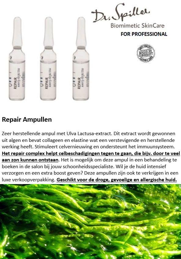 Herstellend ampul voor de zonbeschadigde huid