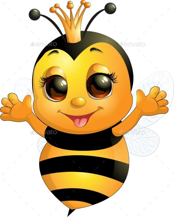 Pin By Myriam On Premium Graphics Content Cute Bee Bee Drawing Bee Pictures