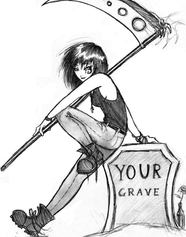 Female Reaper Drawing 1000+ images about female grim reaper on ...