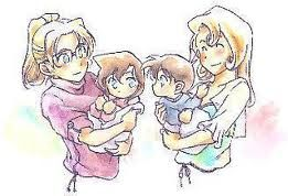 Shinichi and Ran... attracted from birth