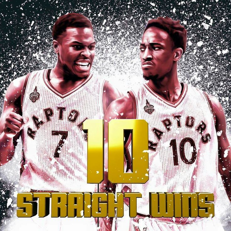Kyle Lowry and Demar Derozen lead the Raptors to a 10th straight win in a defeat of the Knicks in Toronto.