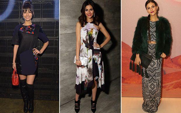 Veja os looks que as famosas usaram para assistir aos desfiles da semana de moda de Nova York - Moda - CAPRICHO