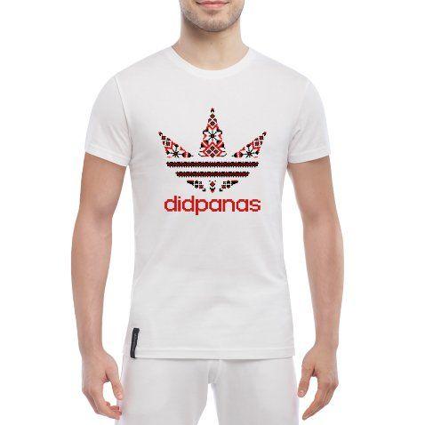 Стильная мужская летняя футболка с символикой Вишиванка цена в интернет  магазине c4c4bbf9397b0