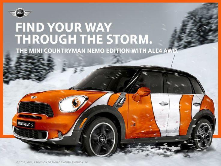 2013 MINI Cooper S Countryman ALL4 AWD Nemo Edition OMG! Love it, want it, need it!   Mini!