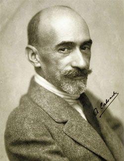 Jacinto Benavente. (Foto: Antonio Calvache).