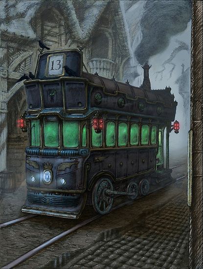 Tram 13 - The Night Tram by tonyhough
