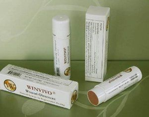 WINVIVO Wound Ointment- All-in-One Solution for Challenging Wounds & Skin Conditions by WinVivo. $79.95. Naturally antimicrobial, anti-inflammatory, and analgesic to reduce swelling and pain. Absorbs exudate and malodor, and removes antibiotic-resistant biofilms. Stimulates microcirculation to facilitate autolytic debridement of necrotic tissue. Clinically proven to accelerate healing of challenging wounds and skin ulcers such as diabetic foot ulcers, venous leg ulcers,...