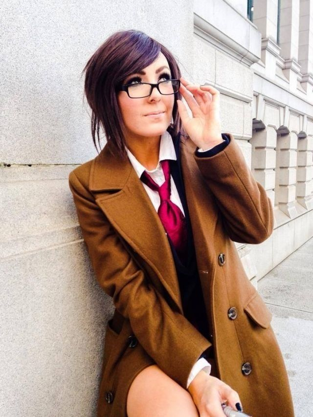 Jessica Nigri as the Female 10th Doctor