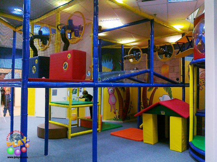 Commercial indoor playground equipment play structures for Indoor play area for kids
