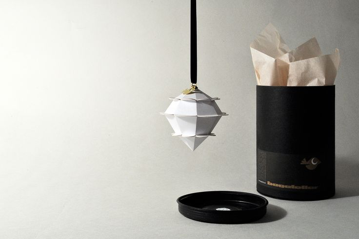 Geometrical paper objects from bagateller.dk