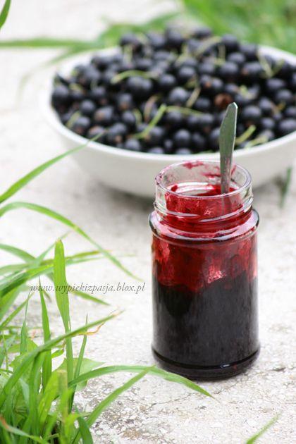 Konfitura z czarnej porzeczki/ Black currant jam