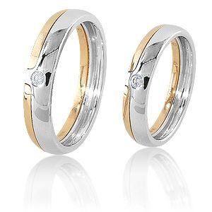 Чудесные парные обручальные кольца