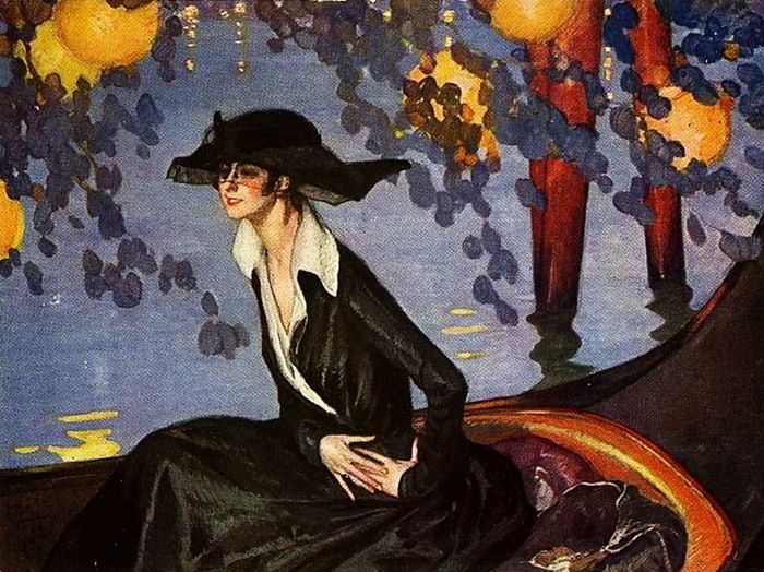 Jean-Gabriel Domergue - the apartment palette is also here.