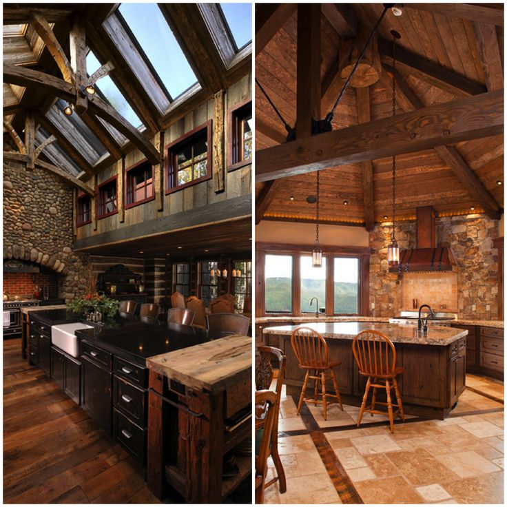Cozy Rustic Kitchens Worthy Of A Mountain Lodge Rustic