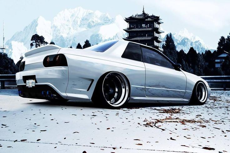 Mean custom Skyline GTR R32